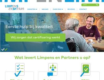 website Limpens en Partners